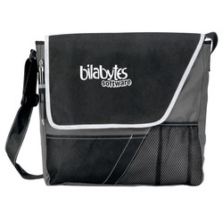 View a larger, more detailed picture of the Accent Messenger Bag - Closeout