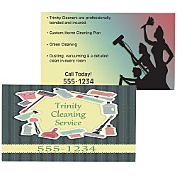 View a larger, more detailed picture of the Double Sided Business Card Magnet - 2 x 3-1 2