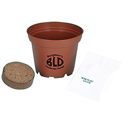 View a larger, more detailed picture of the Terra Cotta Planter Kit - Medium