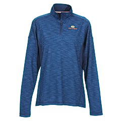 View a larger, more detailed picture of the Yerba 1 4 Zip Wicking Pullover - Ladies