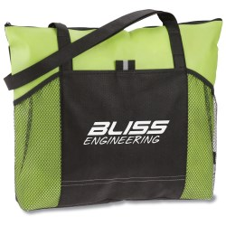 View a larger, more detailed picture of the Solutions Zippered Tote - Closeout