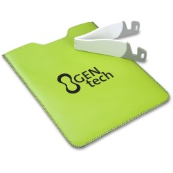 View a larger, more detailed picture of the Fiesta iPad Sleeve with Stand - Closeout