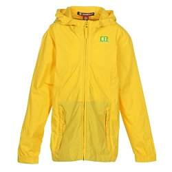 View a larger, more detailed picture of the Harriton Rain Jacket - Youth