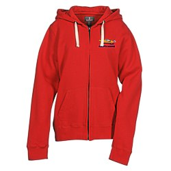 View a larger, more detailed picture of the Huron Full Zip Fleece Hoodie - Ladies