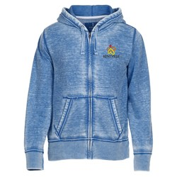 View a larger, more detailed picture of the Ridgemont Burnout Full Zip Hoodie - Men s