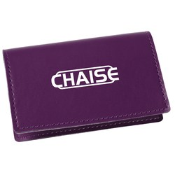 View a larger, more detailed picture of the Vibrant Business Card Case - Closeout