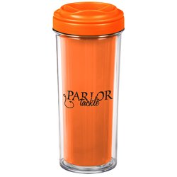 View a larger, more detailed picture of the Evo Travel Tumbler - 15 oz - Closeout