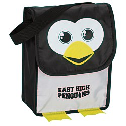 View a larger, more detailed picture of the Paws and Claws Lunch Bag Penguin