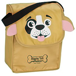 View a larger, more detailed picture of the Paws and Claws Lunch Bag Puppy