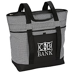 View a larger, more detailed picture of the Jumbo Cooler - Houndstooth