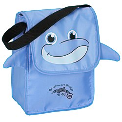 View a larger, more detailed picture of the Paws and Claws Lunch Bag Dolphin - 24 hr