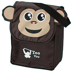 View a larger, more detailed picture of the Paws and Claws Lunch Bag Monkey - 24 hr