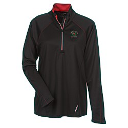 View a larger, more detailed picture of the Radar Half-Zip Performance Pullover - Ladies