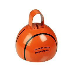 View a larger, more detailed picture of the Basketball Cow Bell