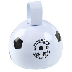 View a larger, more detailed picture of the Soccer Ball Cow Bell