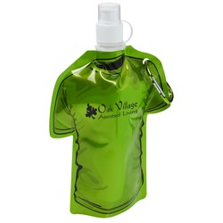 View a larger, more detailed picture of the Tee Shaped Collapsible Bottle - 16 oz