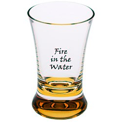 View a larger, more detailed picture of the Cheers Acrylic Shot Glass - 2 oz