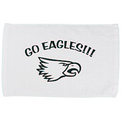 View a larger, more detailed picture of the Sport Rally Towel - White