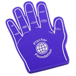 View a larger, more detailed picture of the Foam Hand - High Five
