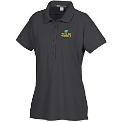 View a larger, more detailed picture of the Soft Stretch Pique Polo - Ladies