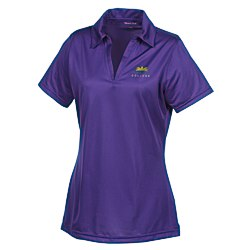 View a larger, more detailed picture of the Active Textured Performance Polo - Ladies