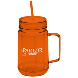 View a larger, more detailed picture of the Game Day Mason Jar - 24 oz - 24 hr