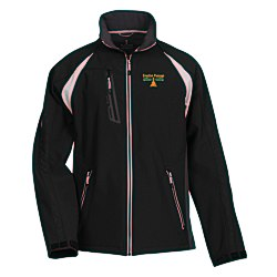 View a larger, more detailed picture of the Katavi Color Block Soft Shell Jacket - Men s - 24 hr
