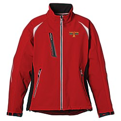 View a larger, more detailed picture of the Katavi Colorblock Soft Shell Jacket - Ladies - 24 hr