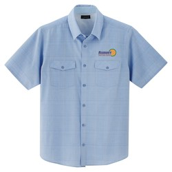 View a larger, more detailed picture of the Sanchi Short Sleeve Dress Shirt - Men s - 24 hr