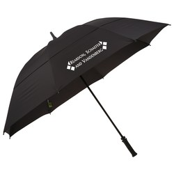 View a larger, more detailed picture of the Ecoverse Manual Umbrella - 62 Arc - Closeout