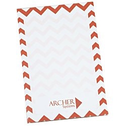 View a larger, more detailed picture of the Scratch Pad - 6 x 4 - Chevron - 25 Sheet