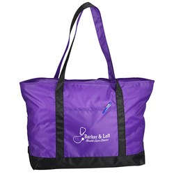 View a larger, more detailed picture of the Nylon Boat Tote - 14 x 23 - Closeout