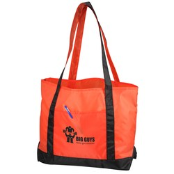 View a larger, more detailed picture of the Nylon Boat Tote - 13 x 20 - Closeout