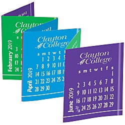 View a larger, more detailed picture of the Accordion Desk Calendar