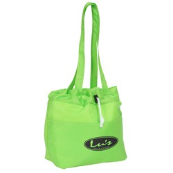 View a larger, more detailed picture of the Drawstring Metro Lunch Tote
