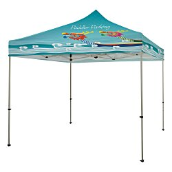 View a larger, more detailed picture of the Standard 10 Event Tent - Full Color