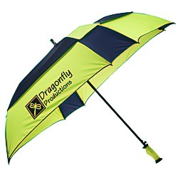 View a larger, more detailed picture of the ShedRain Gellas Auto Open Square Umbrella