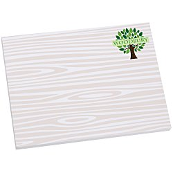 View a larger, more detailed picture of the Bic Sticky Note - Designer - 3x4 - Wood Grain - 50 Sheet