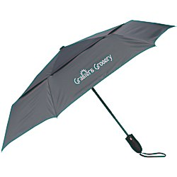 View a larger, more detailed picture of the ShedRain Windjammer Vented Compact Umbrella