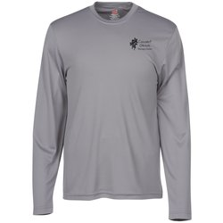 View a larger, more detailed picture of the Hanes 4 oz Cool Dri Long Sleeve T-Shirt