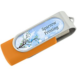 View a larger, more detailed picture of the Swing USB Drive - 1GB - Full Color - 24 hr