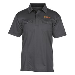 View a larger, more detailed picture of the OGIO Two Pocket Polo - Men s