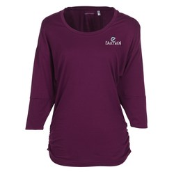View a larger, more detailed picture of the Tri-Blend Dolman Sleeve Shirt