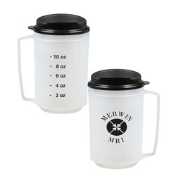 View a larger, more detailed picture of the Foam Insulated Medical Travel Mug - 12 oz