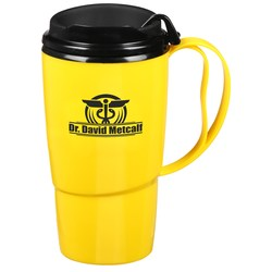 View a larger, more detailed picture of the Foam Insulated Travel Mug - 16 oz