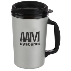 View a larger, more detailed picture of the Classic Foam Insulated Travel Mug - 20 oz