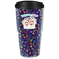 View a larger, more detailed picture of the Full Color Insulated Travel Tumbler - 24 oz