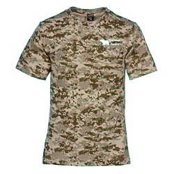 View a larger, more detailed picture of the Code V Camouflage T-Shirt - Men s