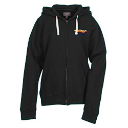 View a larger, more detailed picture of the Huron Full Zip Fleece Hoodie - Ladies - 24 hr