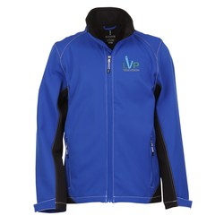 View a larger, more detailed picture of the Iberico Soft Shell Jacket - Men s - 24 hr